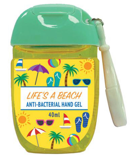 Personal Hand Sanitiser - Life's A Beach. - The Ultimate Balloon & Party Shop