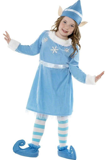 Child's Snowflake Elf Costume - The Ultimate Balloon & Party Shop