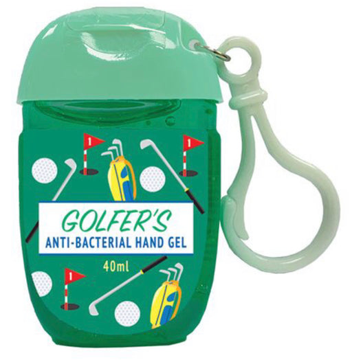 Personal Hand Sanitiser - Golfer's. - The Ultimate Balloon & Party Shop