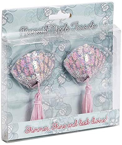 Shell Mermaid Nipple Tassels - The Ultimate Balloon & Party Shop