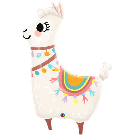 "45"" Foil Llama Shape Balloon - The Ultimate Balloon & Party Shop"
