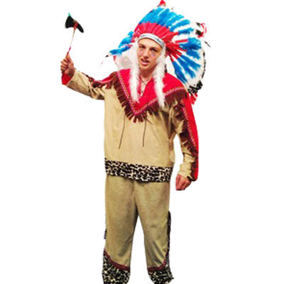 Indian Chief Hire Costume - The Ultimate Balloon & Party Shop