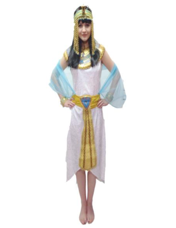 EX HIRE - Cleopatra/Egyptian Lady Costume - The Ultimate Party Shop
