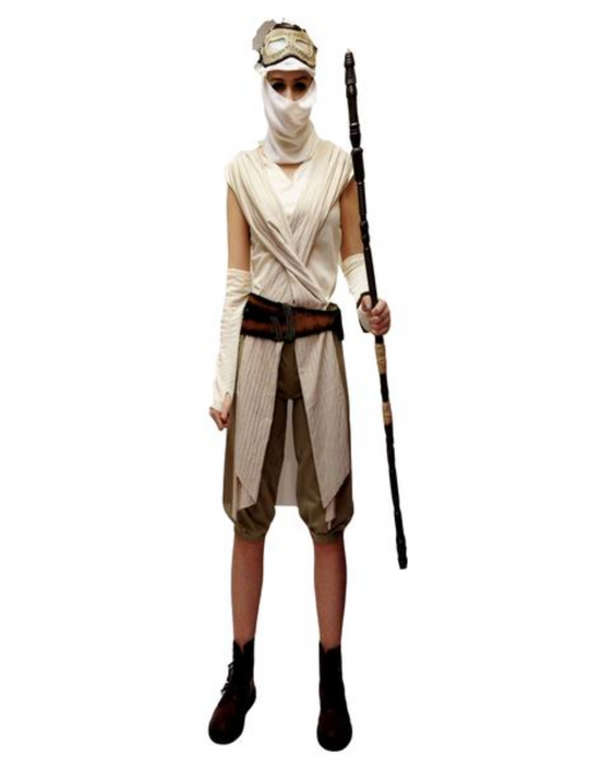 Star Wars - Rey Hire Costume - The Ultimate Party Shop