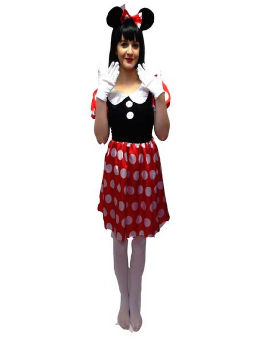 NEW Minnie Mouse Hire Costume
