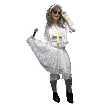Madonna - Like A Virgin Hire Costume - The Ultimate Party Shop