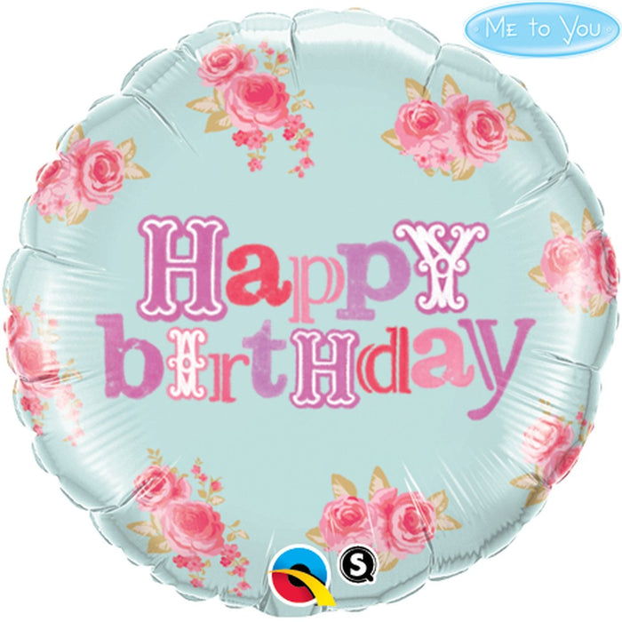 "18"" Foil Happy Birthday Me To You - The Ultimate Party Shop"