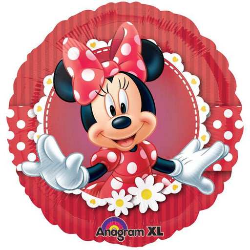 "18"" Foil Minnie Mouse Printed Balloon - The Ultimate Balloon & Party Shop"