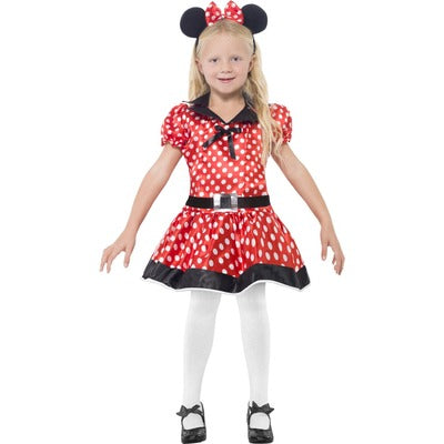 Cute Mouse, Minnie Mouse Children's Costume - The Ultimate Party Shop