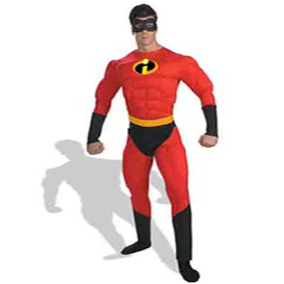 Mr Incredible Hire Costume - The Ultimate Party Shop