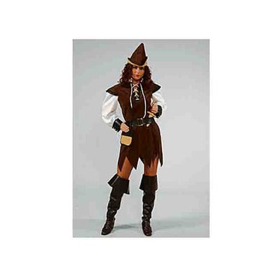 Ex Hire - Robin Hood Female Costume - The Ultimate Party Shop