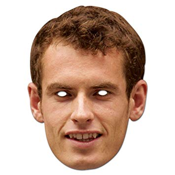 Andy Murray Mask - The Ultimate Party Shop