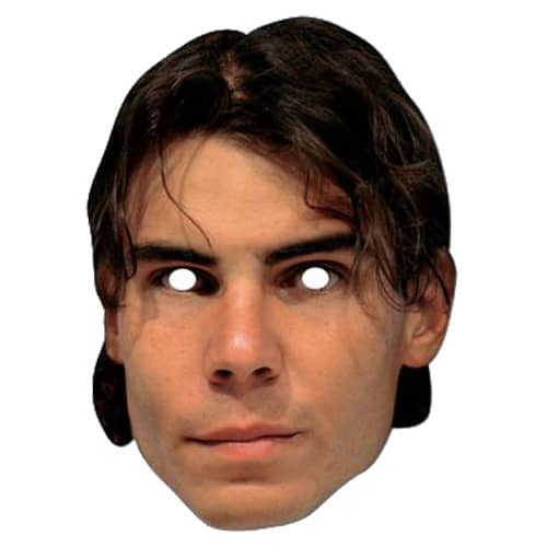 Raffa Nadal Mask - The Ultimate Party Shop