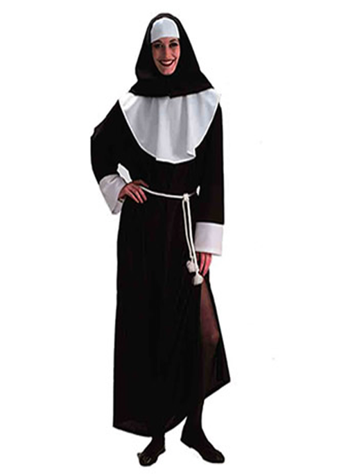 Nun/Sound Of Music Hire Costume - The Ultimate Party Shop