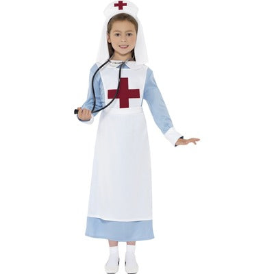 World War 1/2 Nurse Children's Costume - The Ultimate Balloon & Party Shop