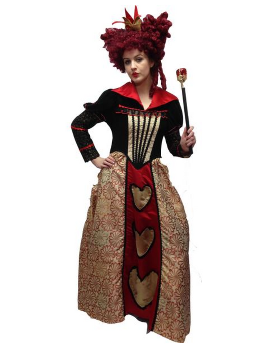 NEW Queen of Hearts from Tim Burton's Film Hire Costume