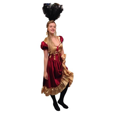 Saloon Girl Hire Costume - The Ultimate Balloon & Party Shop