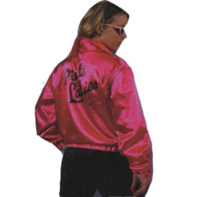 Pink Ladies Jacket from Grease Hire Costume - The Ultimate Balloon & Party Shop