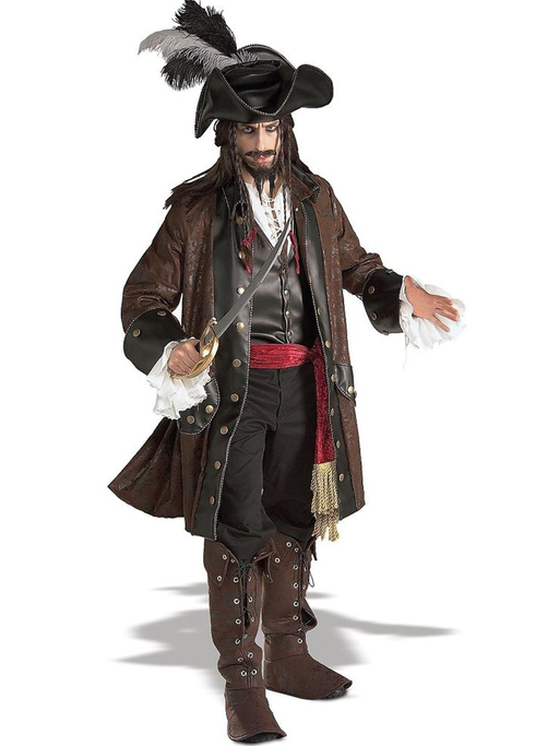 Captain Jack Sparrow Hire Costume - The Ultimate Party Shop