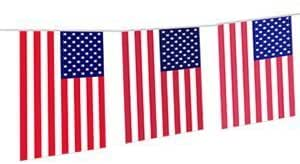 Flag Bunting - USA - The Ultimate Party Shop