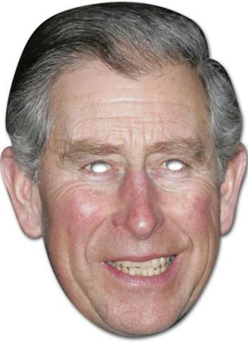 Princes Charles Mask - The Ultimate Party Shop