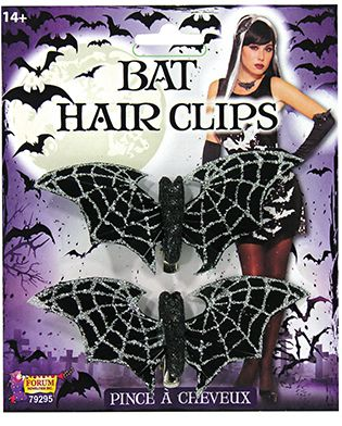 Bat Hair Clips - The Ultimate Party Shop