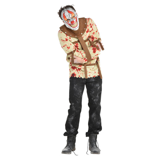 Fun House Pyscho Male Costume - The Ultimate Party Shop