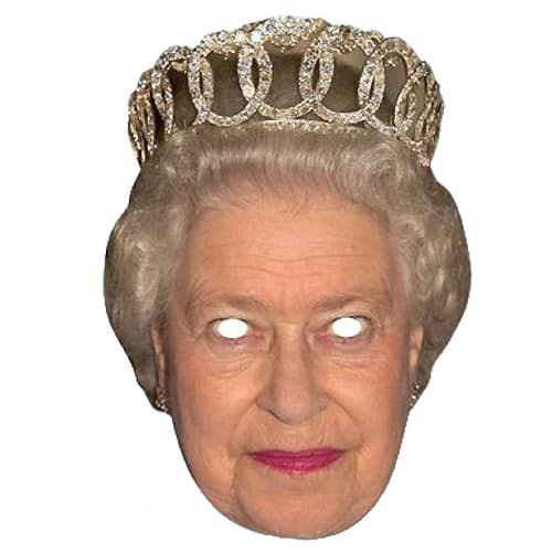 Queen Mask - The Ultimate Party Shop