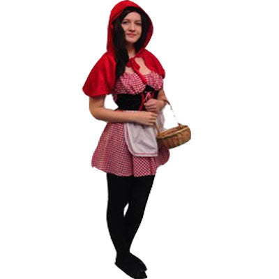 Little Red Riding Hood Hire Costume - Short Version