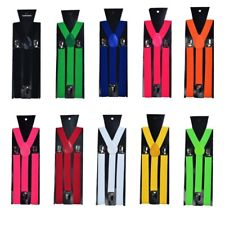 Men's Thin Braces - Assorted Colours