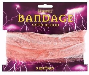 Blood Stained Bandages