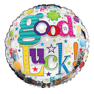 "18"" Foil Good Luck Bright Balloon"