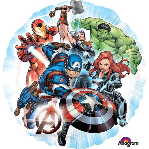 "18"" Foil Avengers Printed Balloon - The Ultimate Balloon & Party Shop"