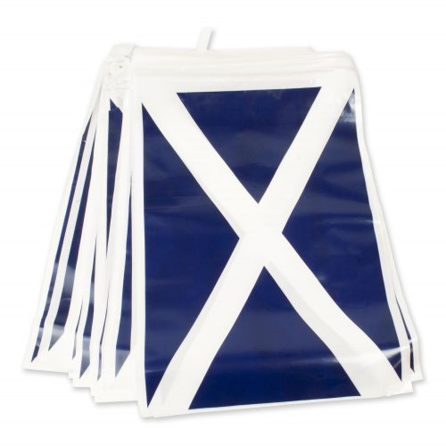 ST Andrews Bunting 7m Plastic - The Ultimate Balloon & Party Shop