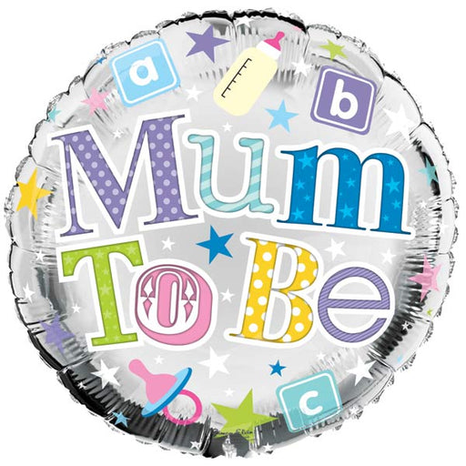 "18"" Foil Mum To Be Round Balloon"