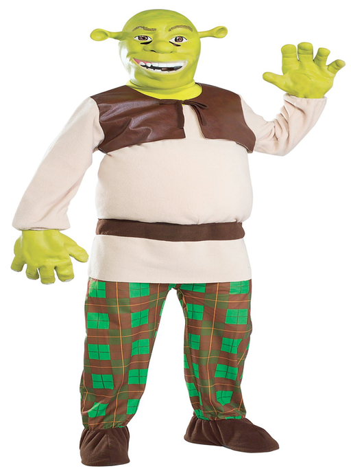 Shrek Hire Costume - The Ultimate Party Shop