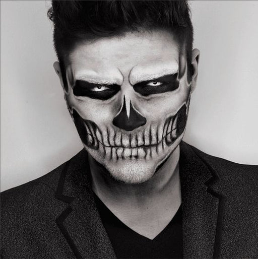 "Skeleton ""Get the Look"" White Eyes - The Ultimate Balloon & Party Shop"