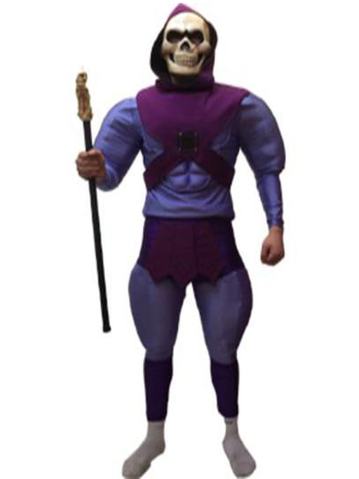 Skeletor Hire Costume
