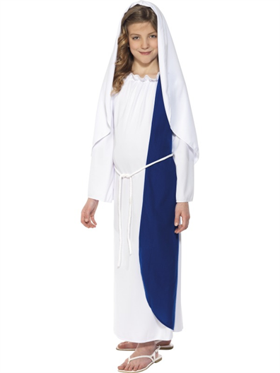 Child's Mary Costume - The Ultimate Party Shop