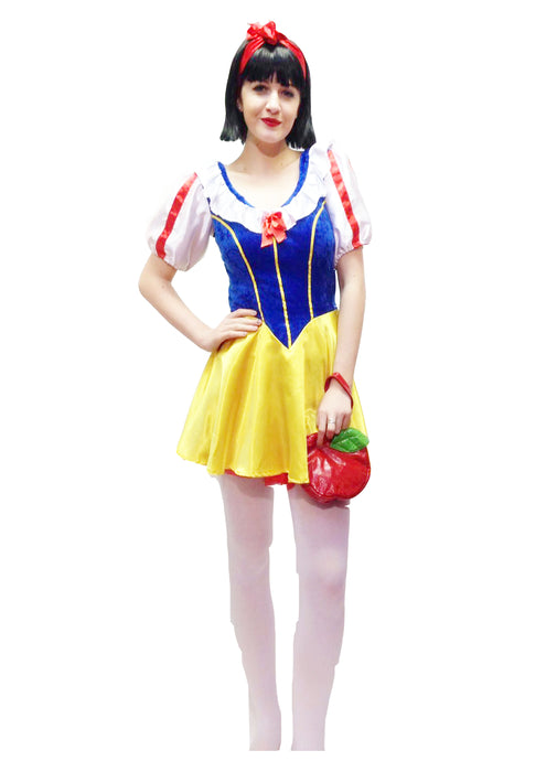Snow Girl Fairytale Hire Costume - The Ultimate Balloon & Party Shop