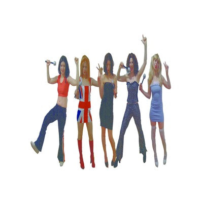 Scary Spice from The Spice Girls Hire Costume - The Ultimate Party Shop