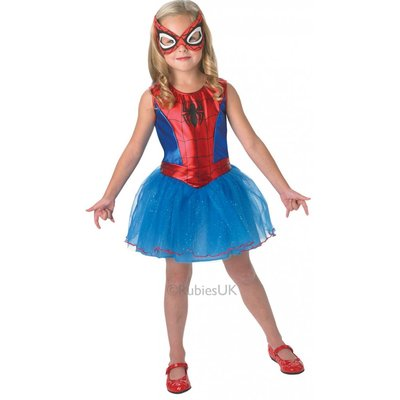 Spidergirl Children's Costume - The Ultimate Party Shop