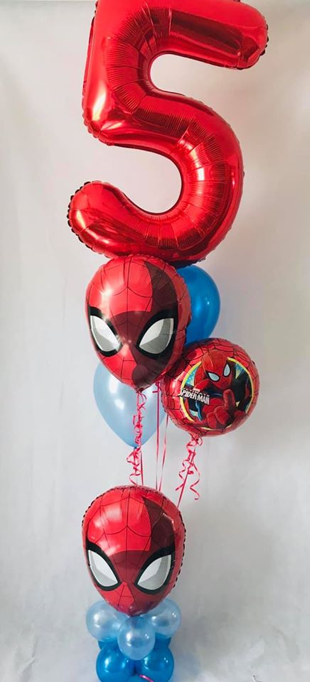 Spiderman Balloon Display - The Ultimate Balloon & Party Shop