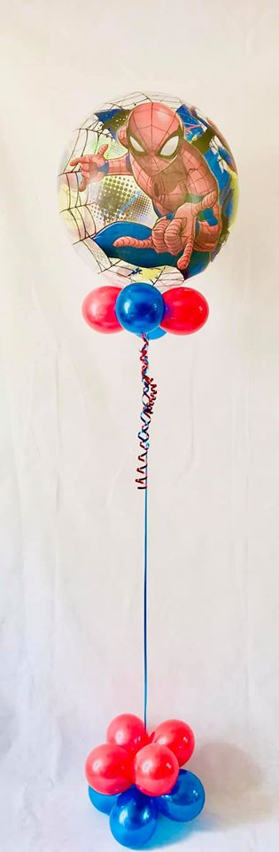 Spiderman Bubble Balloon Gift - The Ultimate Party Shop