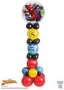 Disney's Spiderman Link-a-loon Pillar - The Ultimate Party Shop