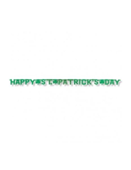 Happy St Patricks's Day Banner - The Ultimate Party Shop