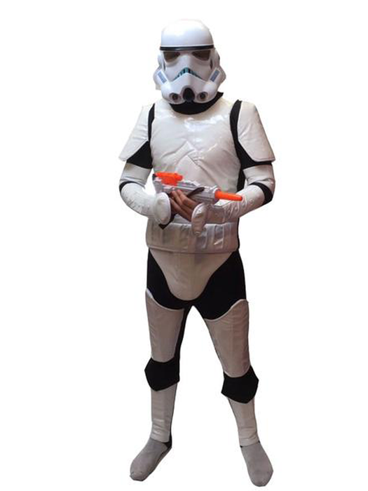 Storm Trooper Hire Costume - The Ultimate Balloon & Party Shop