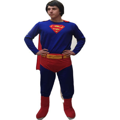 Super Strength Hero Hire Costume - The Ultimate Party Shop