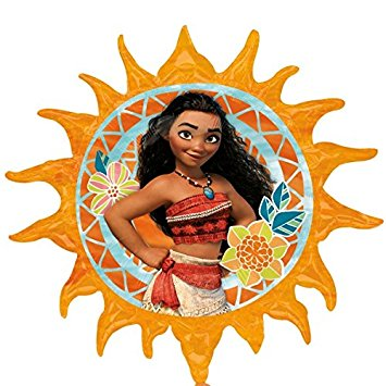 "29"" Foil Moana Large Printed Balloon"