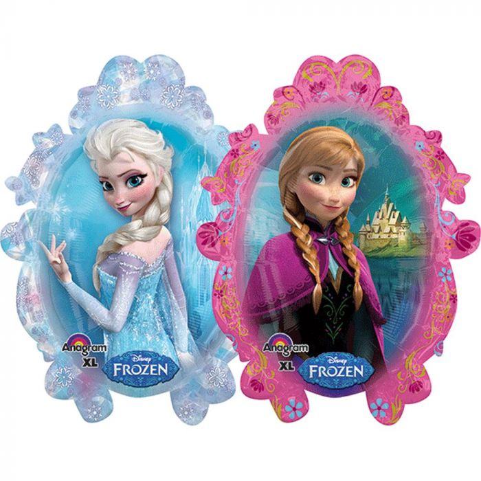 "31"" Foil Frozen Disney Large Printed Balloon - The Ultimate Party Shop"
